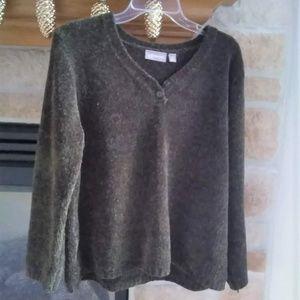 Chennille Henley Sweater